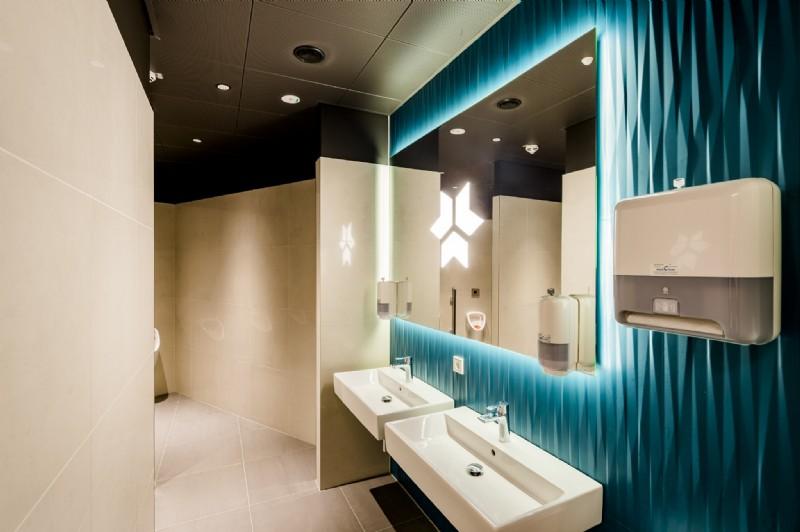 Bad und WC bei Kreisel Electric, Rainbach