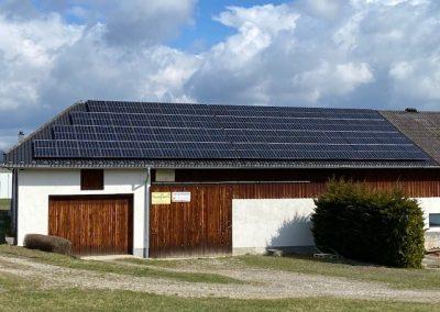 PV 30 kWp für Familie Affenzeller aus Gallgenau, Freistadt